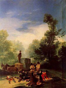 Asalto al coche, de Francisco de Goya