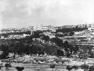 Lámina nº 09 [ Vista de Madrid. Hacia 1902 ]