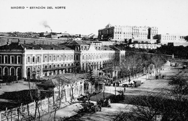 Lámina nº 01 [ Estación del Norte. 1910 ]