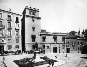 Lámina n? 08 [ Plaza de la Villa. Finales s. XIX ]