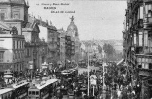 Lámina n? 14 [ Calle de Alcalá. Hacia 1903 ]