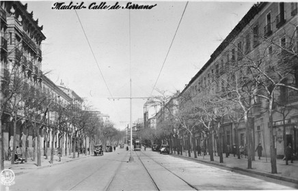 Lámina n? 23 [ Calle de Serrano. 1930 ]