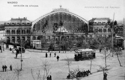Lámina n? 26 [ Estación de Atocha. Anos 20 ]