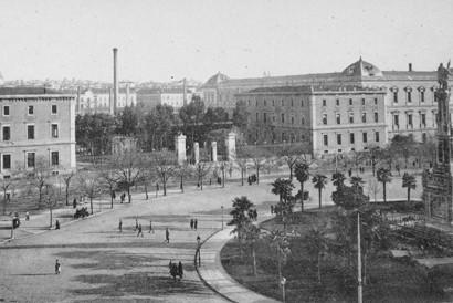 Lámina n? 36 [ Plaza de Colón. Hacia 1915 ]