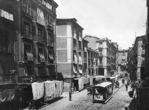 Lámina n?  37 [ Calle de Toledo. Hacia 1890 ]