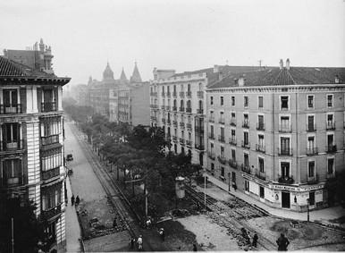 Lámina n? 46 [ Calle de Velázquez. Anos 30 ]