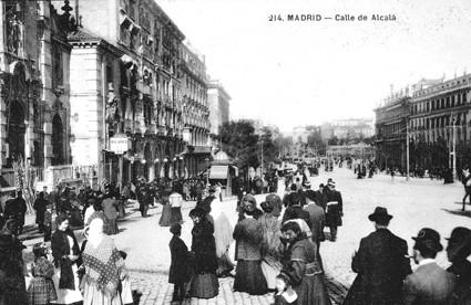 Lámina n? 47 [ Calle de Alcalá. 1910 ]