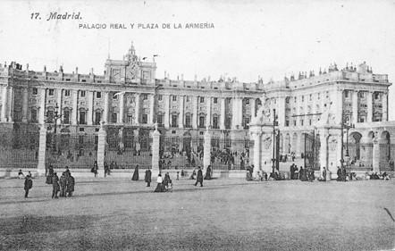Lámina n? 49 [ Palacio Real. 1910 ]