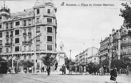Lámina n? 62 [ Plaza de Alonso Martínez. Anos 30 ]