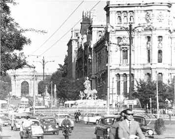Lámina n? 66 [ Plaza de La Cibeles. 1963 ]