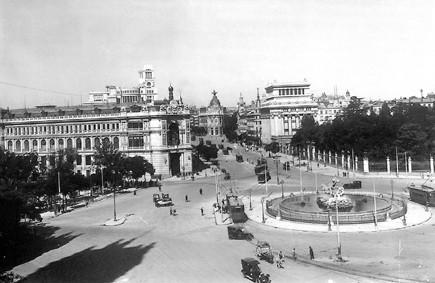 Lámina n? 70 [ Plaza de la Cibeles. 1928 ]