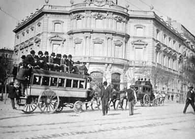 Lámina n? 73 [ Camino de la Plaza de Toros. 1890 ]