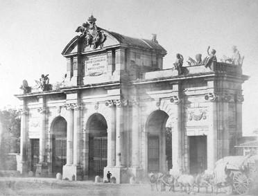 Lámina n? 74 [ Puerta de Alcalá. 1857 ]
