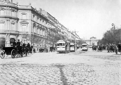 Lámina n? 75 [ Calle de Alcalá. 1900 ]