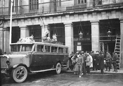 Lámina n? 79 [ Plaza Mayor. Hacia 1928 ]