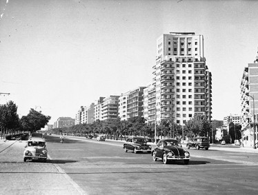 Lámina n? 84 [ Paseo de la Castellana. 1958 ]