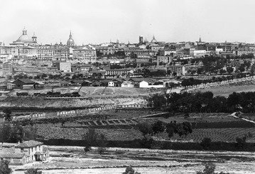 Lámina n? 85 [ Vista de Madrid. Hacia 1902 ]