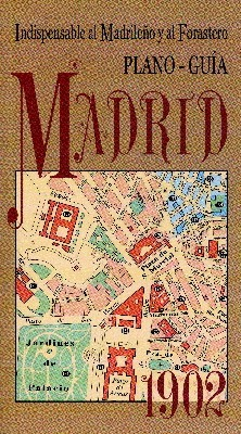 Plano-Guía Madrid 1902