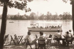 barcas en el lago casa de campo