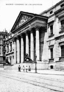 congreso de los diputados 1910