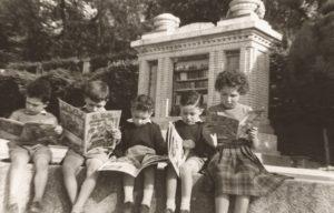 Biblioteca infantil en el Retiro