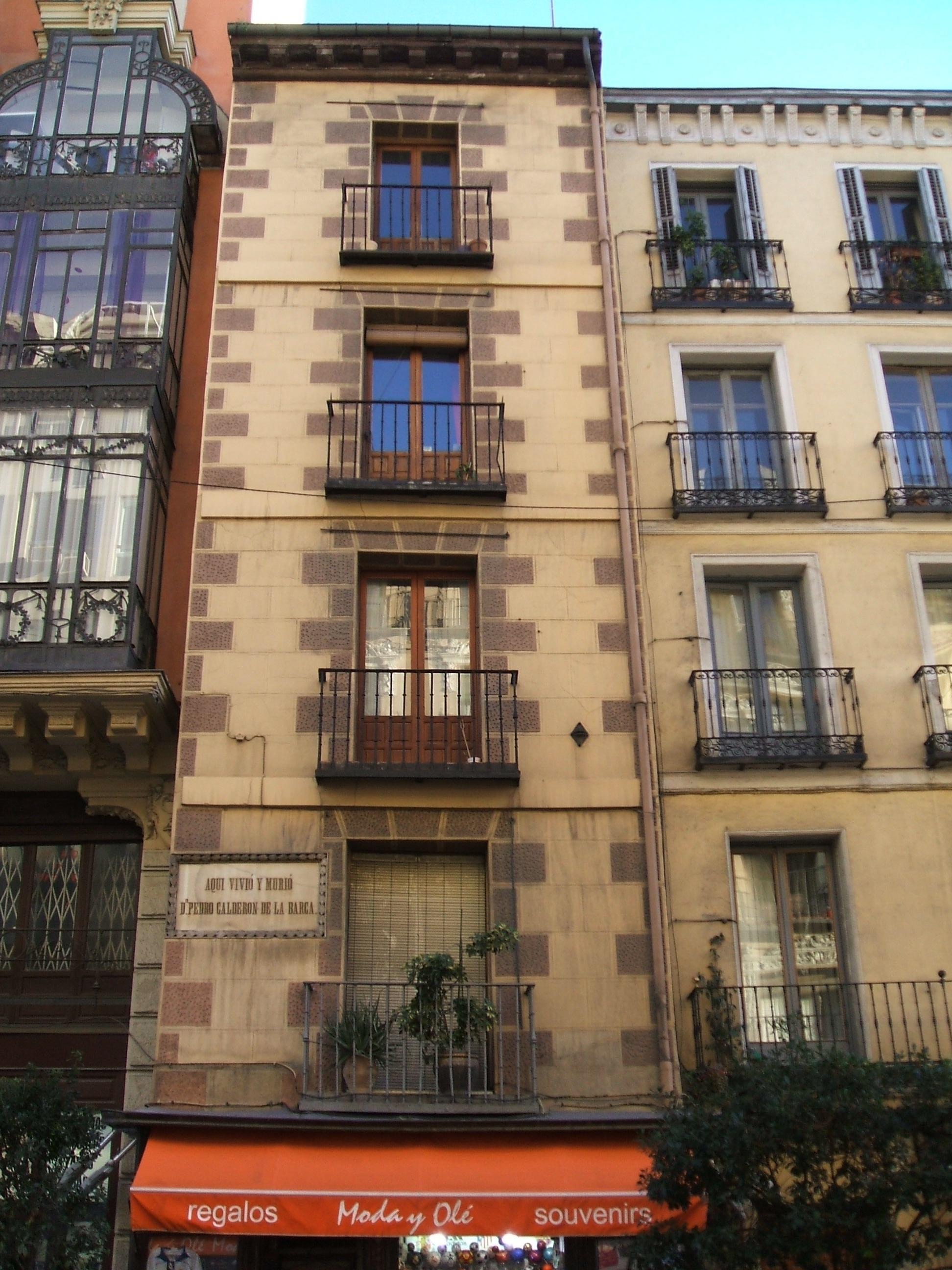La casa donde fallecío Calderón de la Barca