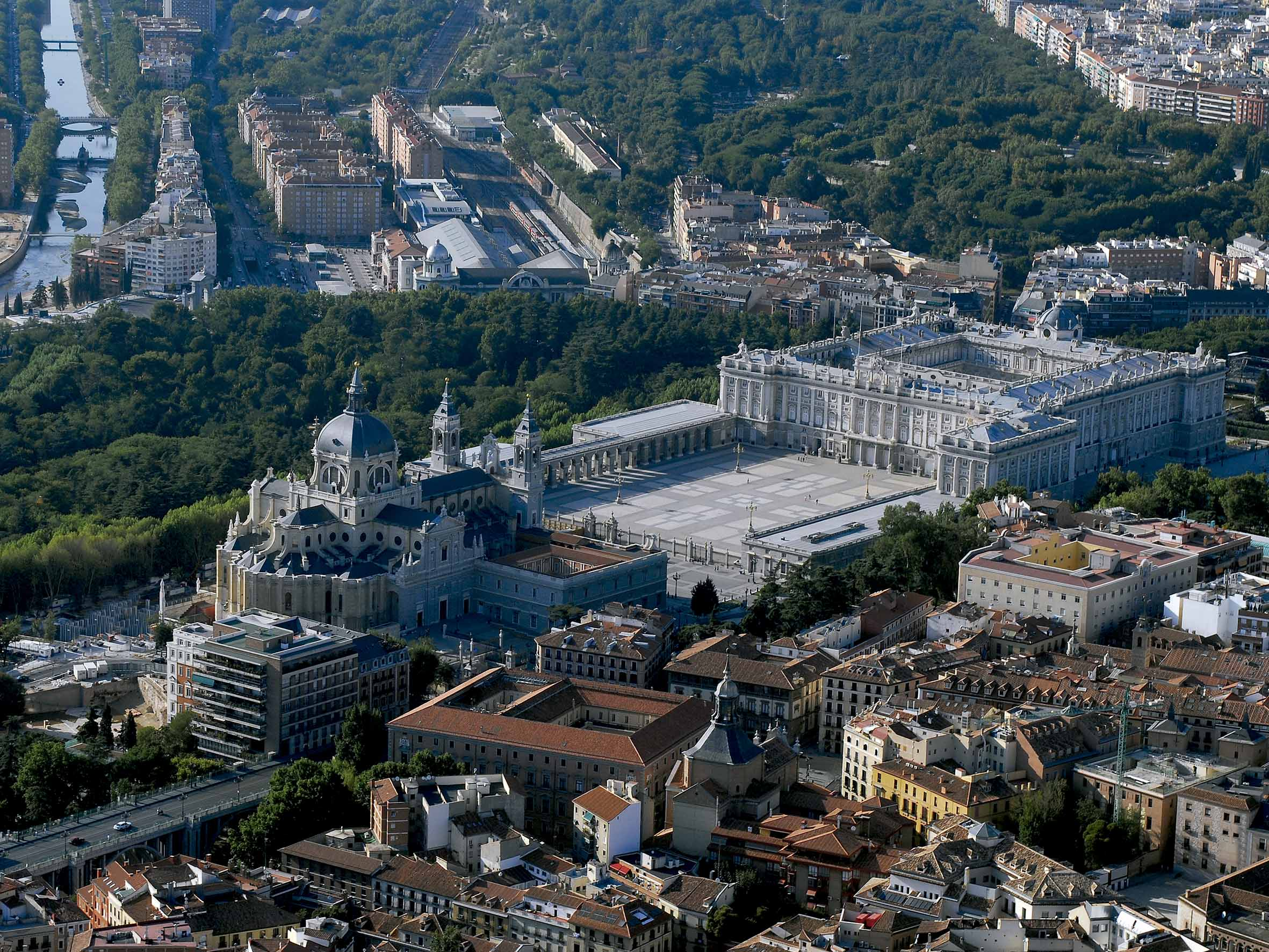 La foto de la semana: Madrid desde el aire