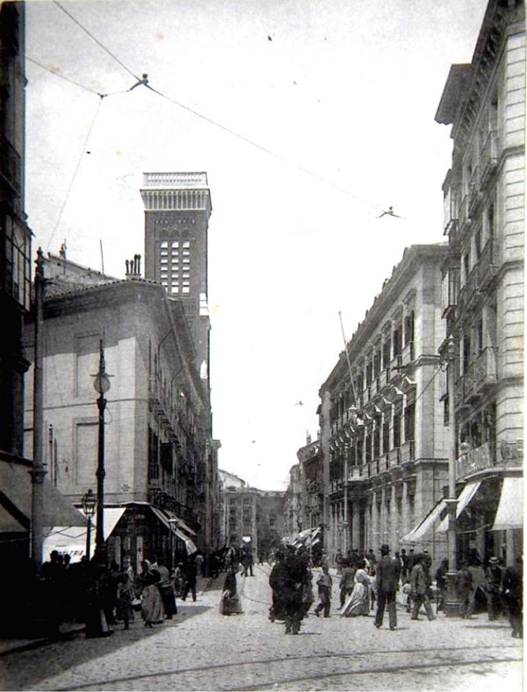 Calle Atocha 1906, Madrid
