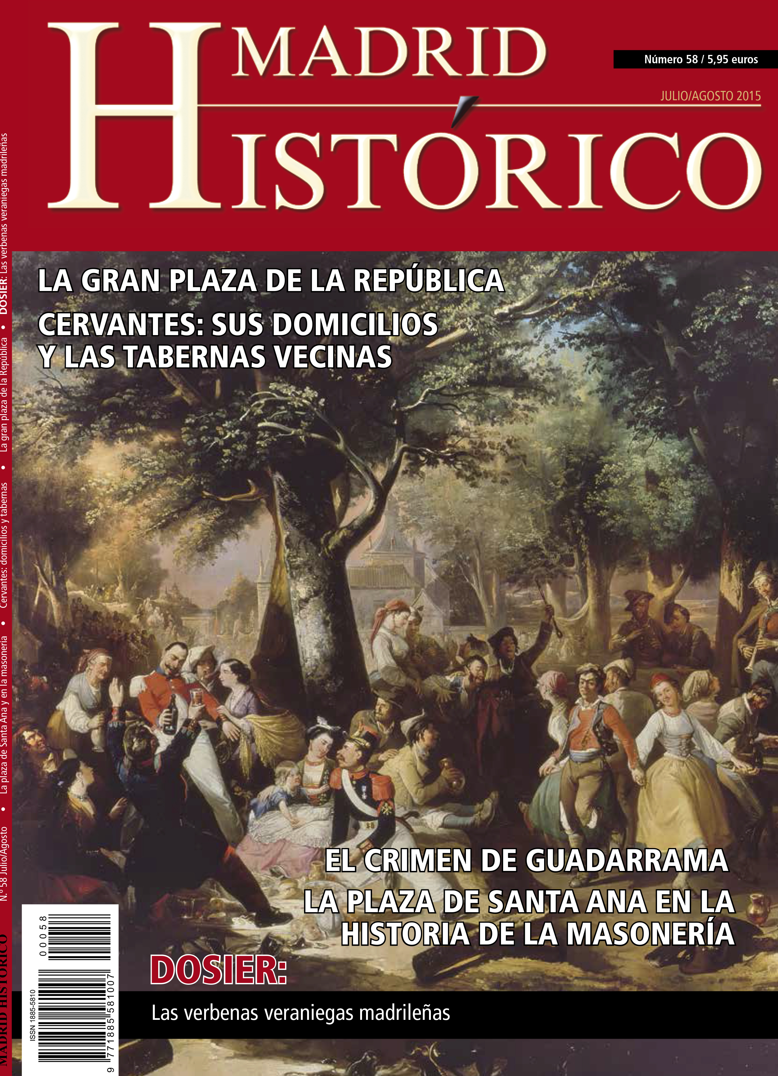 ¡Ya a la venta Madrid Histórico 58!