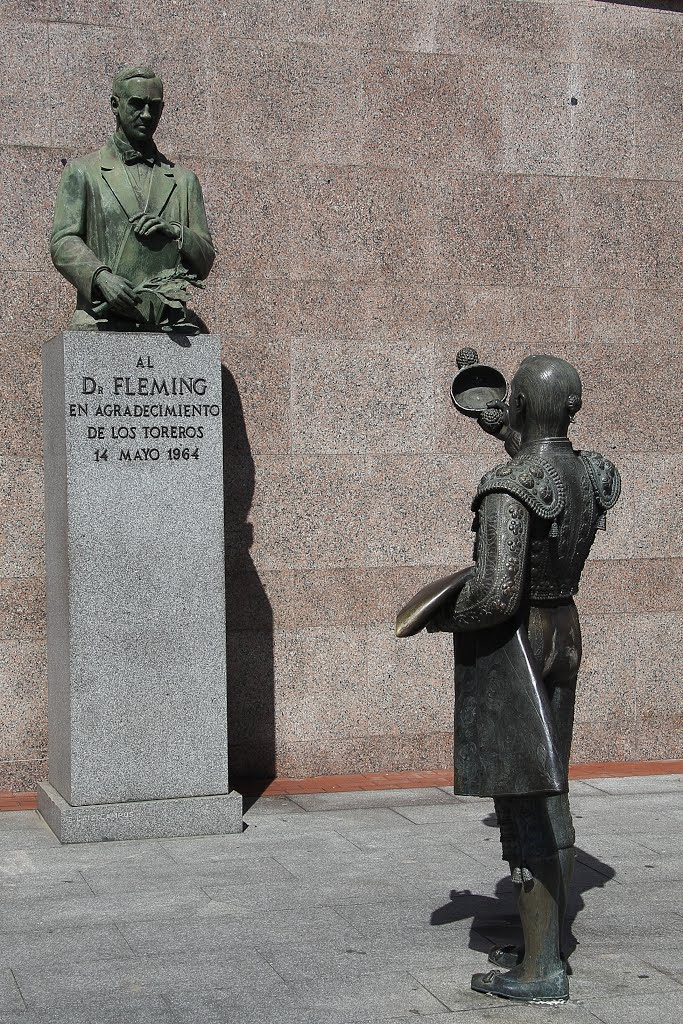 Monumento a Fleming, Madrid
