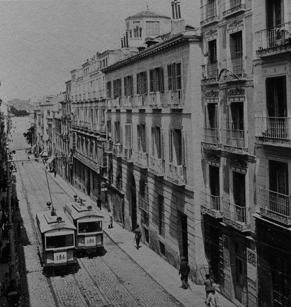 Calle Leganitos en 1905, Madrid