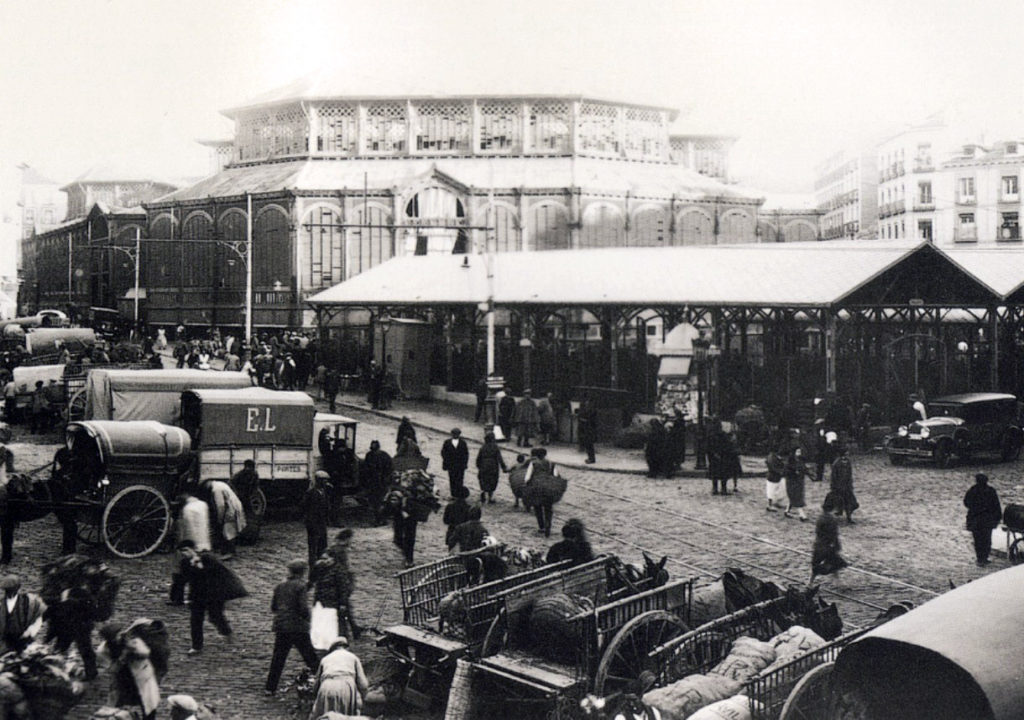 Mercado de la Cebada, 1929, Madrid