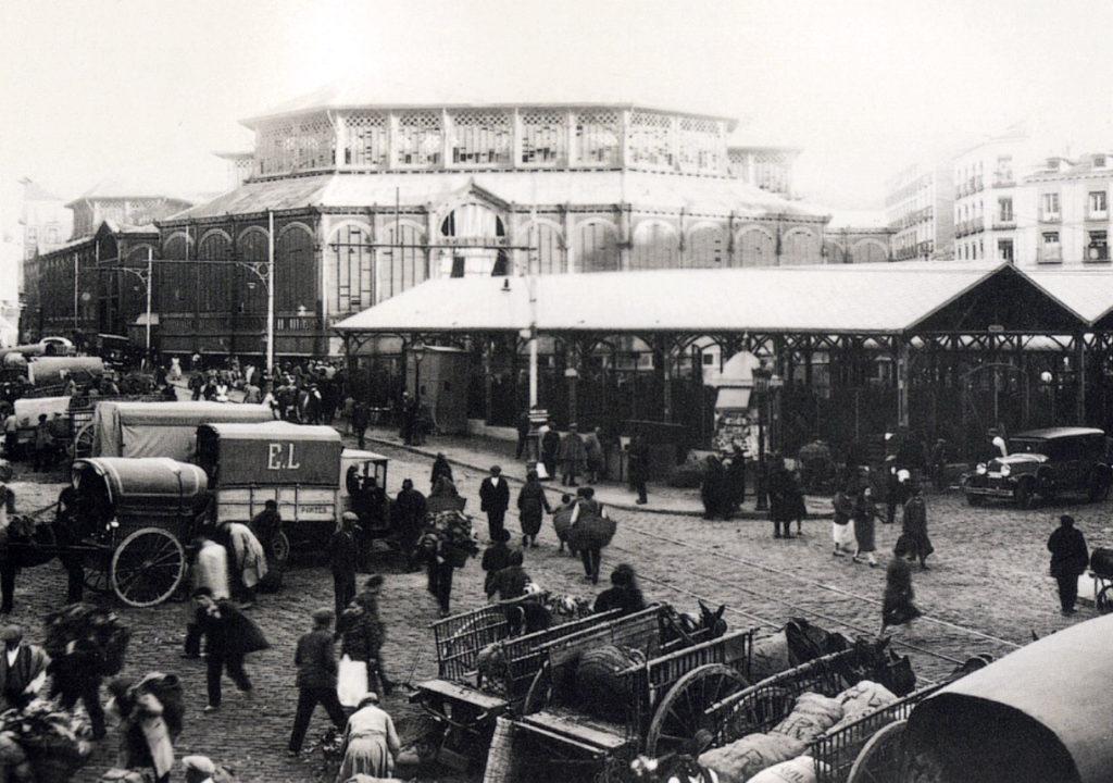Mercado de la Cebada, 1929, Madrid