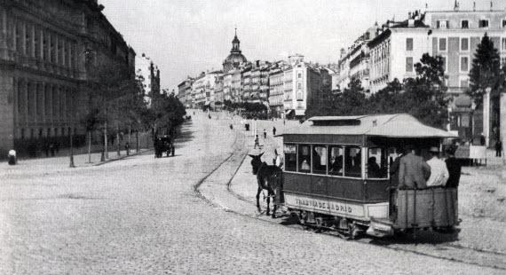 Los primeros vehículos de Madrid