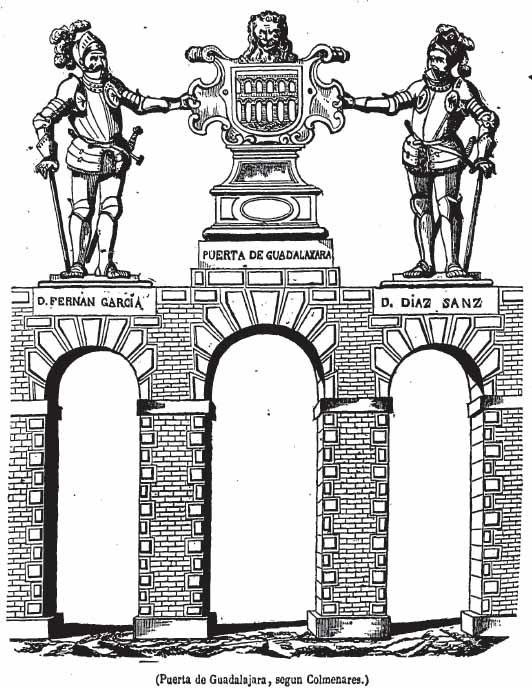 ¿Cómo fue la Puerta de Guadalajara?