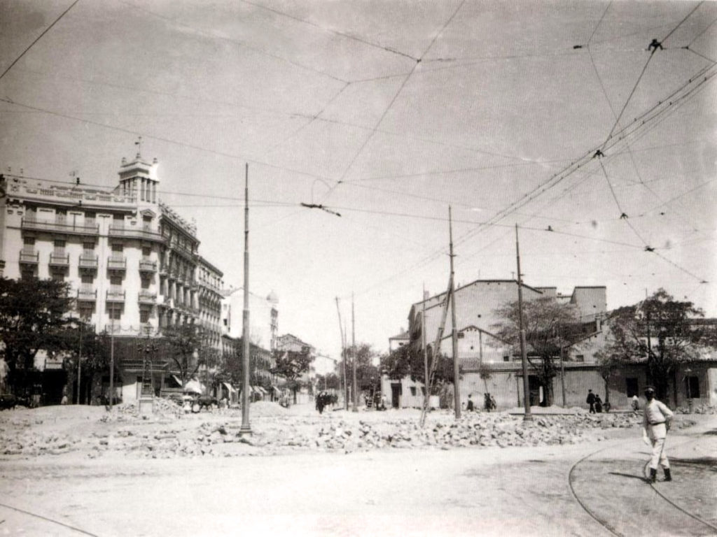 Glorieta de Quevedo, 1930