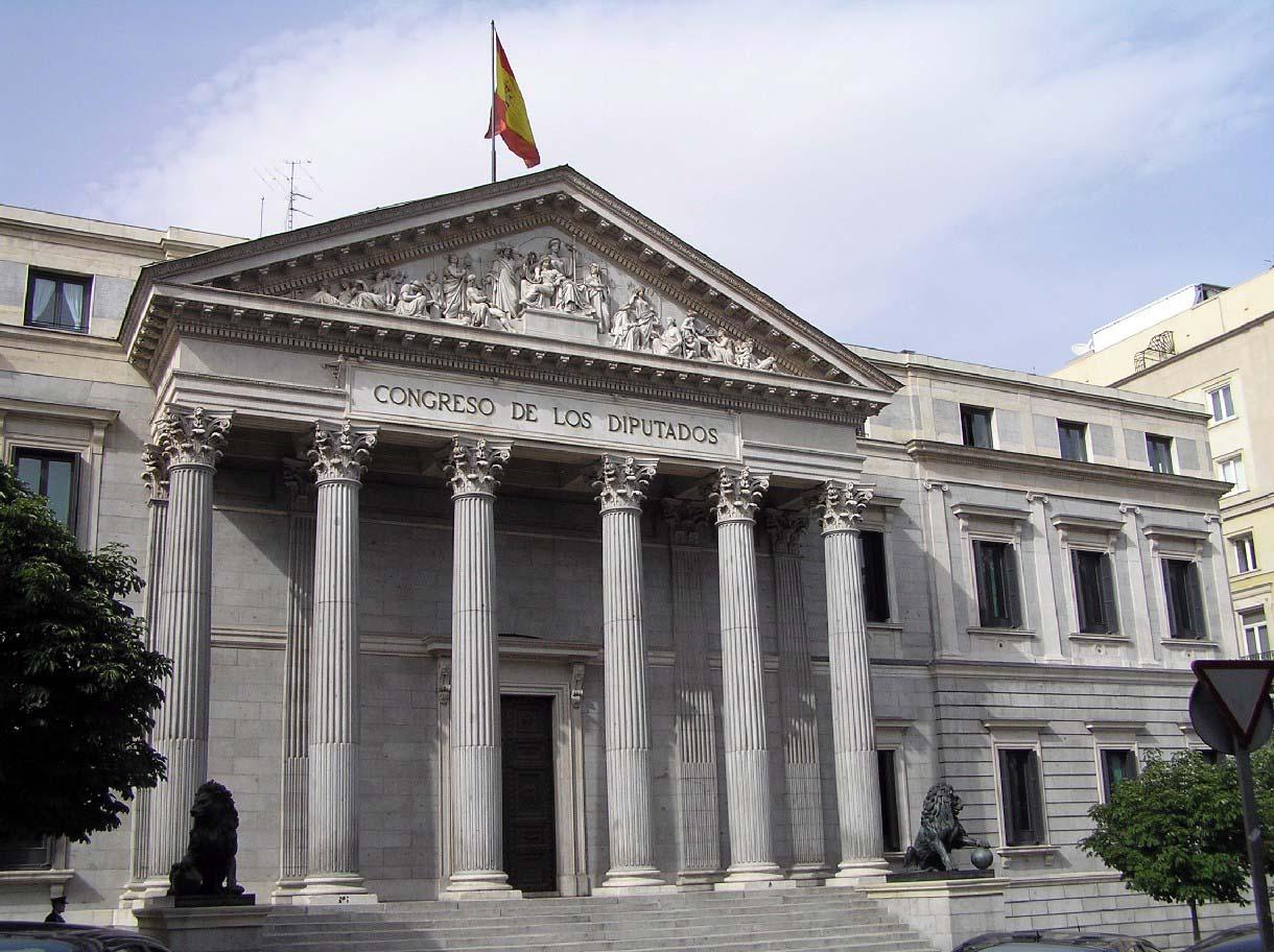Monumentos de Madrid: Congreso de los Diputados