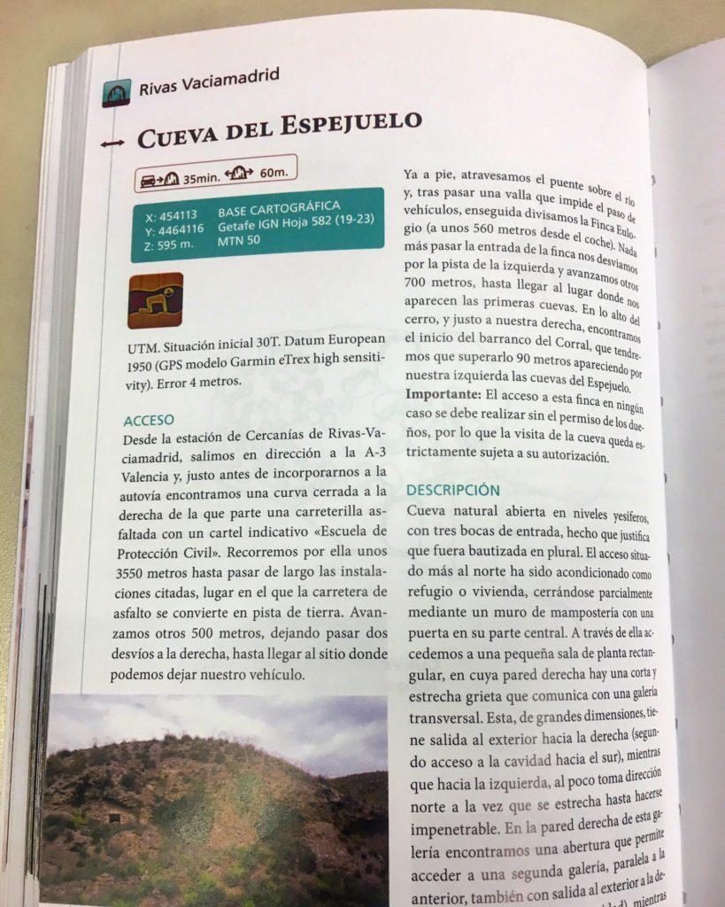Cuevas, Simas y Minas de Madrid