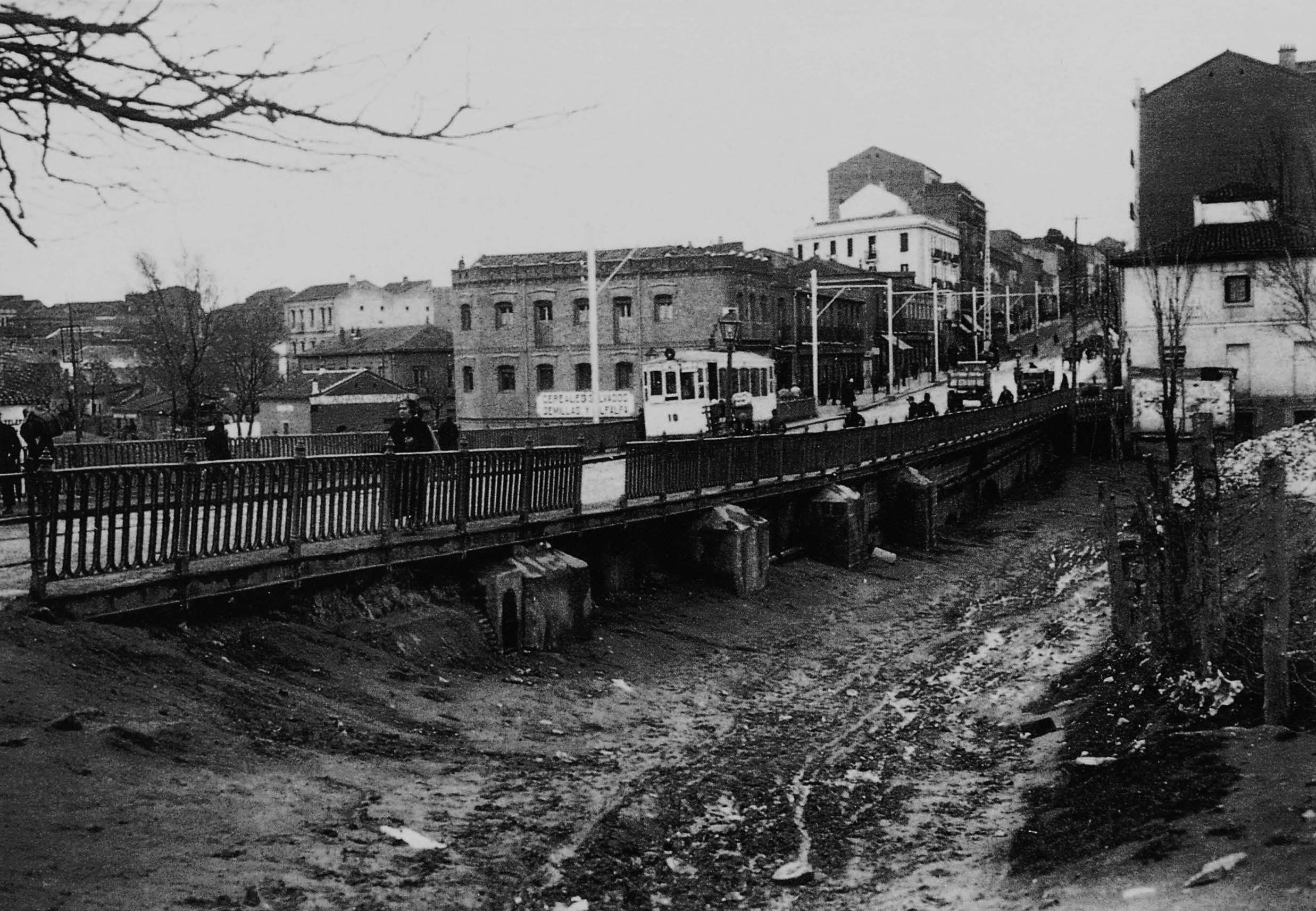 La foto de la semana: Puente de Ventas, 1930