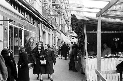 La foto de la semana: Plaza de Tirso de Molina en 1956