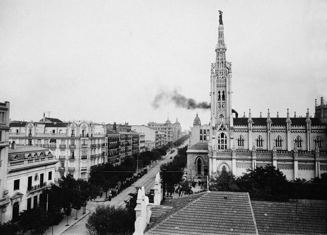 Calle Goya. Años 30. Madrid