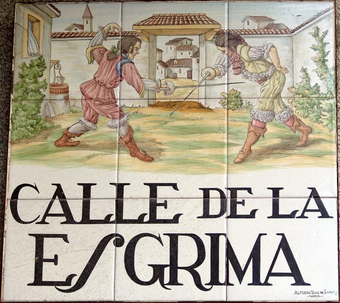 La Calle de la Esgrima: historia y tradición