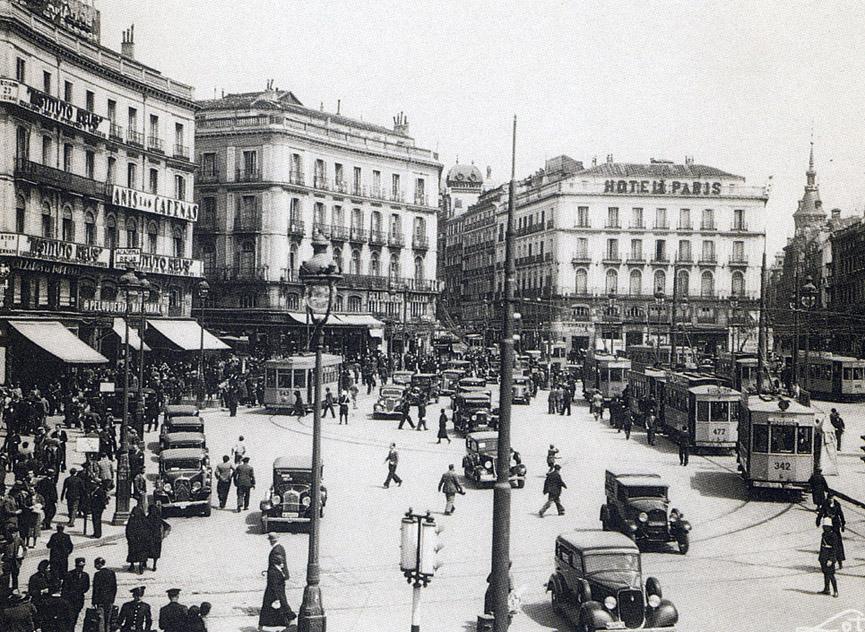 La foto de la semana: Puerta del Sol, 1935