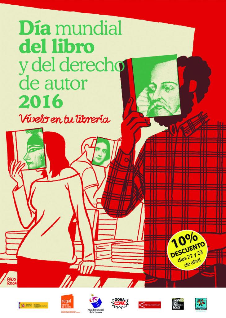 Cartel dia libro 2016