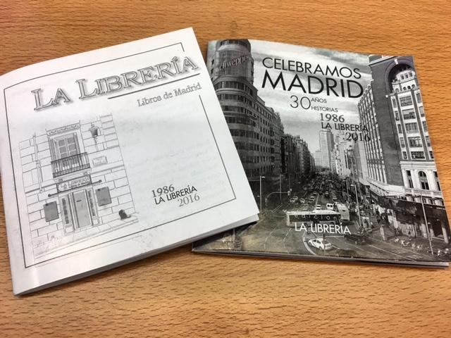 Libros conmemorativos 30º aniversario de La Librería