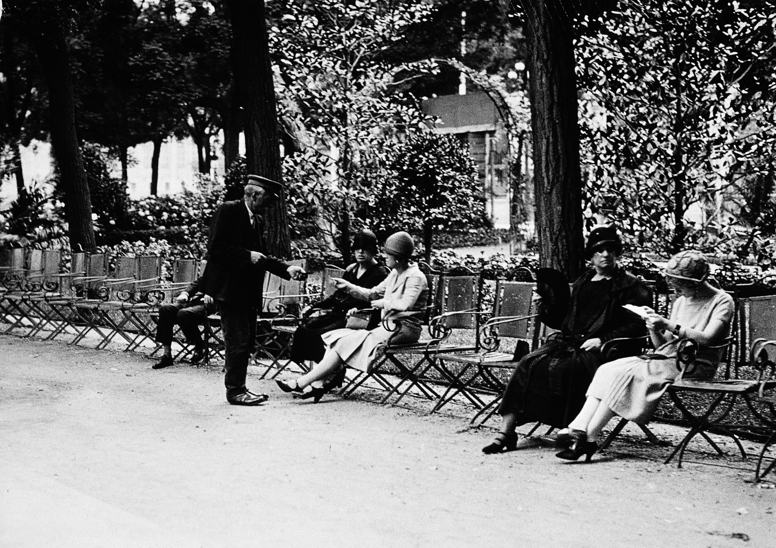 Paseo de Recoletos, 1929, Madrid