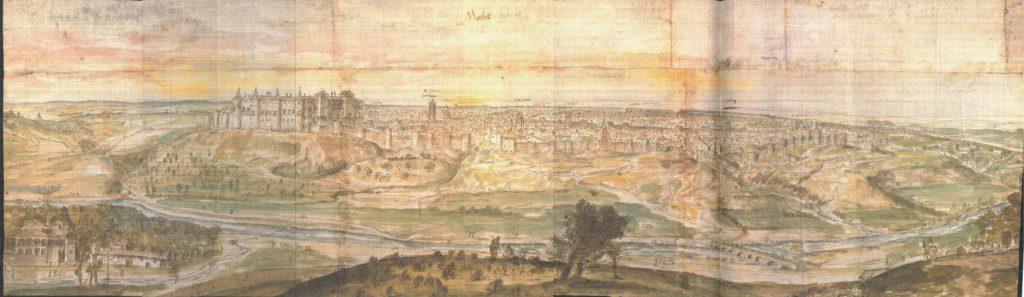 Vista de Madrid, 1562