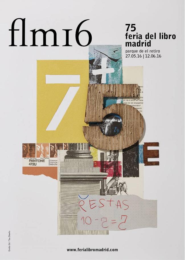 Cartel de Feria del Libro de Madrid