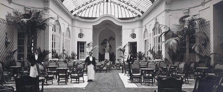 Imagen del interior del Hotel Ritz