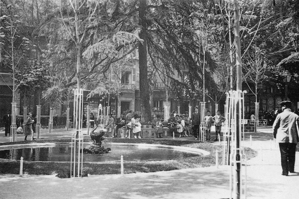 Plaza de Santa Ana, 1966